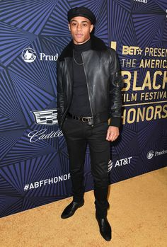 The Best Dressed Men Of The Week: Keith Powers at The American Black Film Festival Honors, California. #bestdressedmen #keithpowers