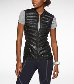 Made with 800-fill goose down, the Nike Aeroloft Vest ($180) warms your core without overheating you.