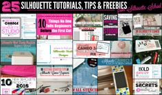 And it's that time of the month again when we look back at all the fabulous Silhouette CAMEO tutorials, tips, tricks and free cut files that we shared on Silhouette School!  December was a very busy m