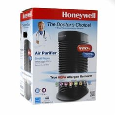 I'm learning all about Honeywell True HEPA Allergen Remover, Black, 1 ea at @Influenster! @HoneywellNow