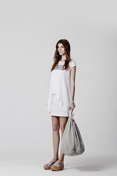 NEW  FRESH BRAND BY ACCESSFASHION.....EIGHT DAYWEAR  SS15 COLLECTION Fresh Brand, Eight, Ss 15, White Dress, Detail, Collection, Dresses, Fashion, Gowns