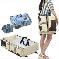 Boxum Baby 3 In 1 Diaper Bag Travel Bassinet & Changing Station Missing Strap Without Return Diapering Baby