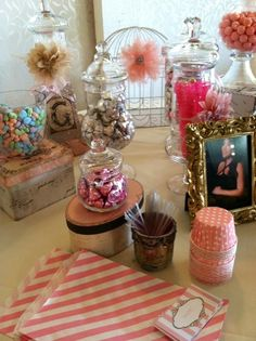 "Photo 4 of 17: Shabby Chic, Vintage Glam / Baby Shower/Sip & See ""Lupita's Baby Shower"" 