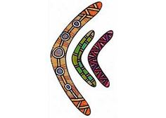 Paint or decorate these blank cardboard boomerangs. Supplied as a pack of 10 sheets which includes a total of 60 boomerangs in assorted sizes long and long). Church Crafts, Early Childhood, Naidoc Week, Projects To Try, Packing, Symbols, Picture Books, Geography, Inspiration