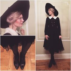 This Innocent world dress is the best! Thank you I did wear my red scarf outside today for International Women's day Witches Costumes For Women, Witch Costumes, Cosplay Costumes, Halloween Costumes, Halloween Queen, Costume Makeup, Halloween Halloween, Vintage Halloween, Halloween Makeup