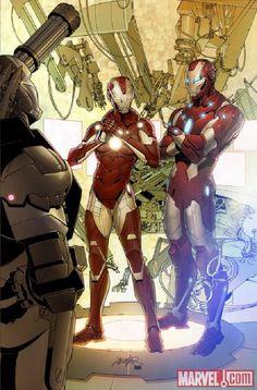 Quisiera tener todos los cómics de Iron Man #ironmancomic #MovieTime #Peliculas