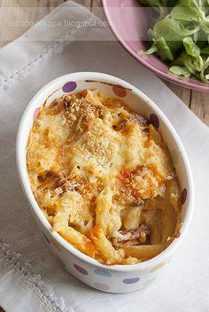 Mac&cheese con chorizo_a