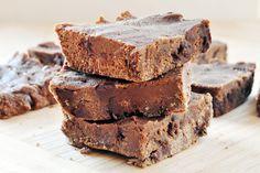 Sweet Potato Chocolate Fudge Brownies Vegan Gluten-Free- vegan, gluten-free, sugar-free brownies. Agave and sweet potato, chocolate chips and chocolate fudge.