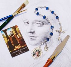 Unbreakable Chaplet of St. Catherine of Bologna  by foodforthesoul