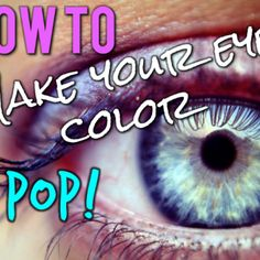 Great reference tool What color Eyeshadow should you use?   Southern Girly