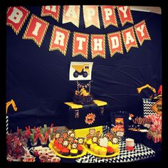 Construction Birthday Party at Home Depot!!