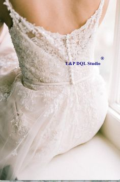Wonderful Perfect Wedding Dress For The Bride Ideas. Ineffable Perfect Wedding Dress For The Bride Ideas. Delicate Wedding Dress, Lace Wedding Dress, Bridal Dresses, Wedding Gowns, Elegant Wedding, Wedding Dress Buttons, Dress Lace, Wedding Venues, Wedding Dress Low Back