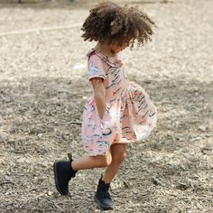 Feeling so girly thanks to  little concept. Stop by scoutthecity.com to see  the full look with our blogger baby  littlemissalba 8e2d847414b