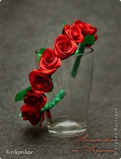 Arquinho de rosas passo a passo