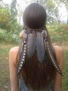 Hey, I found this really awesome Etsy listing at https://www.etsy.com/listing/208409530/tribal-princess-feather-headband-native