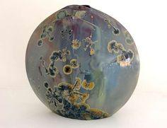 JT McMaster Artisanal ceramics - Custom and opensource ceramic transfers. Alain Fichot: Crystalline vase