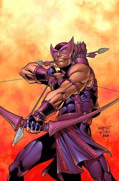 Hawkeye by Carlos Pacheco.