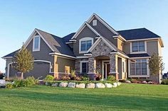 Plan W14498RK: Striking Curb Appeal  close to the layout we want