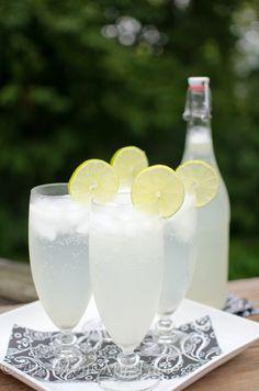 Ginger Lime Sparkler