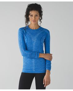 Heathered Lakeside Blue Rest Less Pullover
