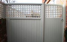 Side gate Bespoke, Contemporary Wooden Garden Gates - Essex UK, The Garden Trellis Company
