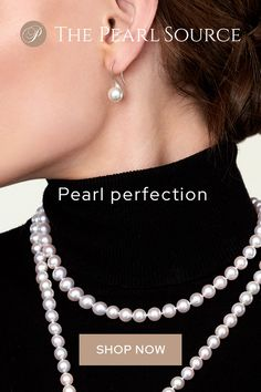 Pearls - the perfect look for a very fashionable statement Metal Clay Jewelry, Pearl Jewelry, Beaded Jewelry, Pearl Earrings, Jewelery, Jewelry Sets, Jewelry Accessories, Women Jewelry, Purse Essentials