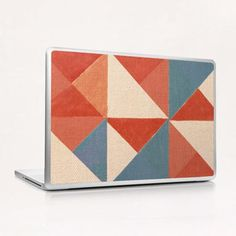 Trigonale 3 Laptop & iPad Skin by Fernando Vieira