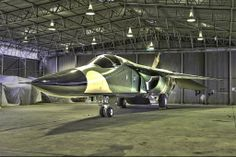 Royal Australian Air Force General Dynamics F-111 under rebuild at RAAF Wagga Heritage Centre.