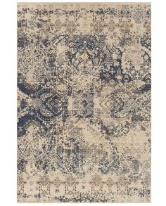 A blue and taupe rug/carpet available through David E. Adler Oriental Rugs in Scottsdale, AZ Transitional Area Rugs, Bryant Park, Grey And Beige, Gray, Patterned Carpet, Carpet Design, Rugs On Carpet, Carpets