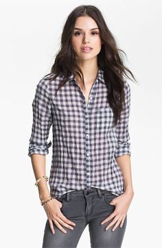 Nordstrom Half-Yearly Sale: BP. Button Up Shirt (Juniors), $21.98