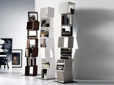 Libreria pensile igea in metallo laccato final