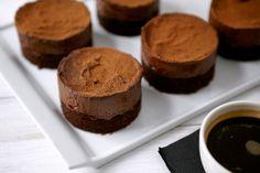 Triple chocolate truffle cake... #desserts