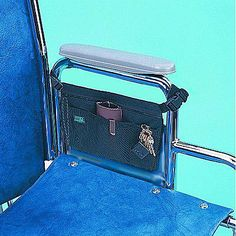Wheelchair Armrest Carry Tote Bag Pouch Pack Organizer | eBay