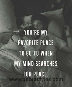 My favorite place- Love quotes