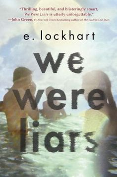 We Were Liars by e. Lockhart. 3 of 5 stars. Read this in a day. Most of the book has that normal - yet - off feeling that one gets at the beginning of a horror movie. We know something bad happened,  but what?  Cadence thinks she has amnesia and headaches because she hit her head on rocks while swimming. But spending time with her cousins,  Mirren and Johnny,  and their friend Gat jogs her memory enough for her to recall the truth. Recommend to 9th grade and up due to mature moral dilemmas.