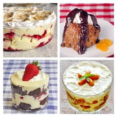 Diane was looking for trifle recipe suggestions and we've got a few, from Raspberry Coconut Cream to Chocolate Orange Mousse Trifle. Any of these are great dessert ideas, especially when serving a large group this Holiday season. I LOVE all creamy, luscious trifles; they are some of my most favorite desserts ever