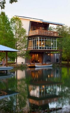 Pond House At Ten Oaks Farm By Holly & Smith Architects