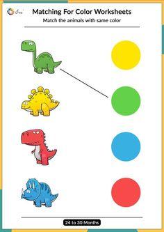 Shape Worksheets For Preschool, Preschool Activity Books, Preschool Colors, Preschool Writing, Preschool Learning Activities, Kids Worksheets, Matching Worksheets, Shapes Worksheets, Color Activities