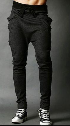 Item Type: Full Length Gender: Men Fit Type: Regular Brand Name: None Waist Type: Low Fabric Type: Broadcloth Length: Full Length Closure Type: Elastic Waist Decoration: None Pant Style: Harem Pants S