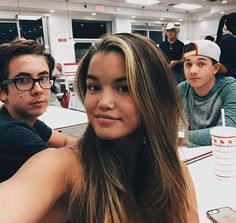 """Photo: Paris Berelc With Her """"Mighty Med"""" Co-Stars On National Cheeseburger Day September 18, 2015 - Dis411"""