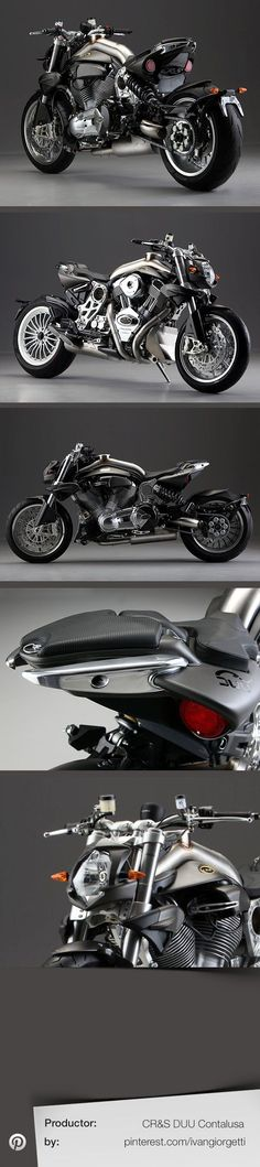 DUU Contalusa by CR #custom motorcycle #moto #tuning