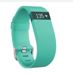 For Sale: Teal Fitbit Hr  for $110