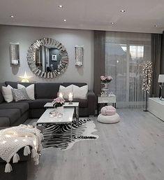 42 super Ideas for house interior colors living room pillows Room Design, Farmhouse Dining Room, Home Decor, Room Inspiration, House Interior, Apartment Decor, Living Room Grey, Living Room Pillows, Living Room Designs