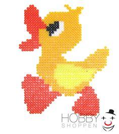 Find også denne søde ælling på vores inspirations-side http://www.hamaperler.dk/aelling-af-hama-perler/