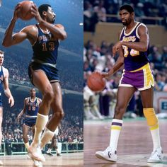 #FinalsTrivia: Wilt Chamberlain & Magic Johnson are the only two players to record back-to-back triple-doubles in the #NBAFinals.