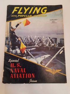 Flying & Popular Aviation Magazine (January 1942) (US Naval Aviation Special)
