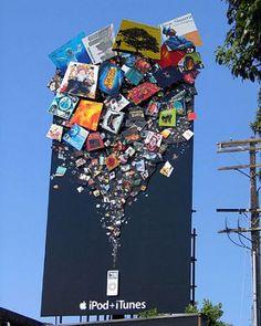 20 brilliant examples of billboard advertising Design Creative Bloq Guerilla Marketing, Street Marketing, Marketing Innovation, Experiential Marketing, Creative Advertising, Advertising Design, Marketing And Advertising, Apple Advertising, Advertising Ideas
