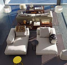 Sofa: FRANK - Collection: B&B Italia - Design: Antonio Citterio