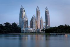 Reflections at Keppel Bay Singapore [2280x1520] [OS] - see http://www.classybro.com/ for more!
