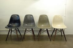THESE COLORS, EAMES DSW, HERMAN MILLER
